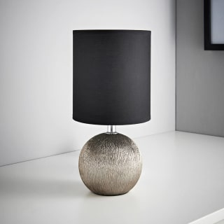 Etch Table Lamp - Black