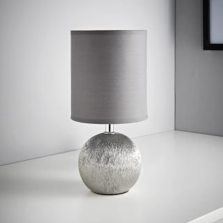 Etch Table Lamp - Grey