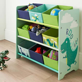 Dinosaur 9 Tub Storage Drawers