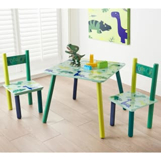 Dinosaur Kids Table & Chairs