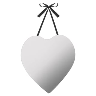 Hanging Heart Mirror