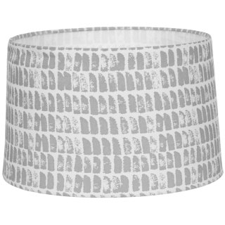 Tribal Drum Light Shade - Grey