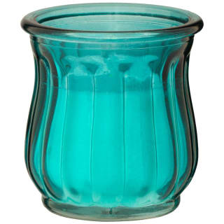 Glass Candle - Aqua