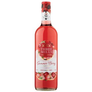 Three Mills Fruit Fusion Wine 75cl - Summer Berry