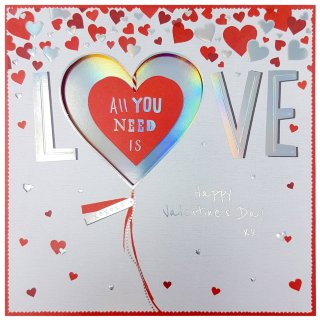 All You Need is Love - Valentine's Day Card