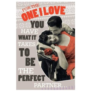 For the One I Love - Valentine's Day Card
