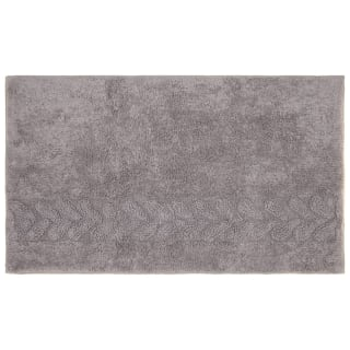 Cable Bath Mat 50 x 80cm - Grey