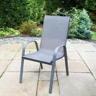 Seattle Stacking Chair - Grey