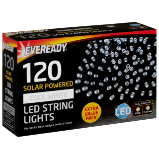 Eveready LED String Lights 120pk - Cool White