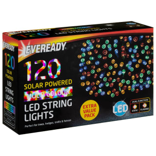 Eveready LED String Lights 120pk - Multi