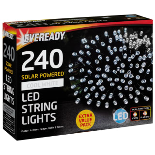 Eveready LED String Lights 240pk - Cool White