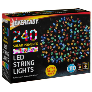 Eveready LED String Lights 240pk - Multi