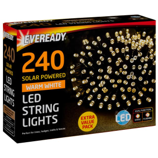 Eveready LED String Lights 240pk - Warm White