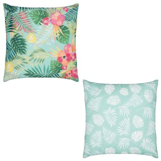 Outdoor Tropical Scatter Cushion - Multi