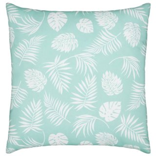 Outdoor Tropical Scatter Cushion - White
