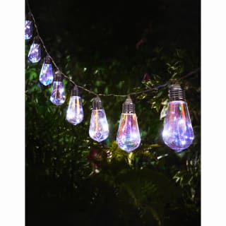 Iridescent Slim Bulb String Lights 10pk