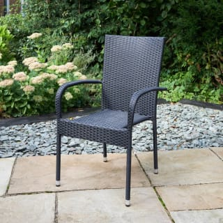 Bali Rattan Effect Stacking Chair