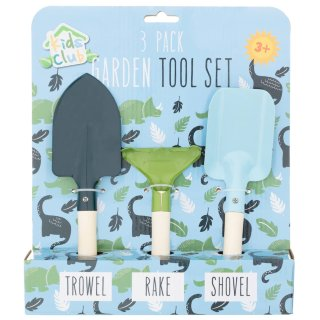 Kids Club Garden Tool Set 3pk - Dinosaur