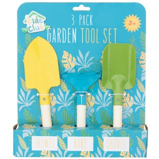 Kids Club Garden Tool Set 3pk - Leaves