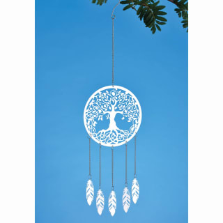 Deluxe Metal Dreamcatcher with Feathers (Assorted)