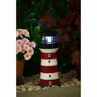 Solar Lighthouse - Red