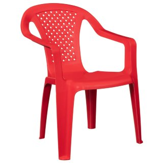 Kids Stacking Chair - Red