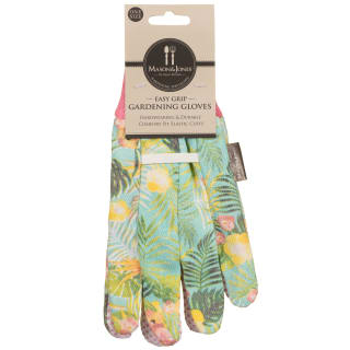 Mason & Jones Easy Grip Gardening Gloves - Tropical