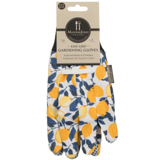 Mason & Jones Easy Grip Gardening Gloves - Lemons