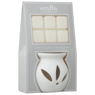 Oil Burner & Wax Melt Set - Vanilla