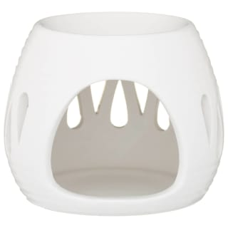 Ceramic Oil Burner - White