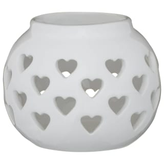 Ceramic Candle Holder - Grey