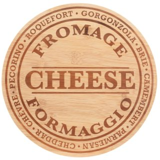Engraved Wooden Cheese Board