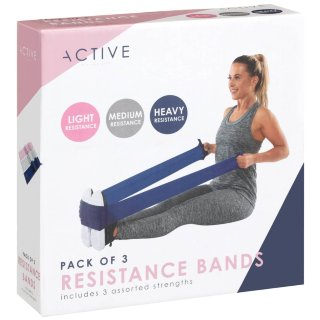Active Resistance Toning Band - Navy