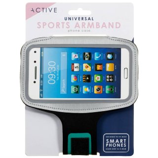 Active Armband Phone Holder - Grey