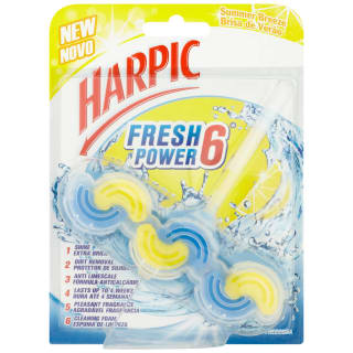 Harpic Fresh Power 6 Block - Summer Breeze