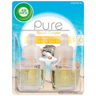 Air Wick Pure Beach Escapes Oil Refill 2pk - Mykonos