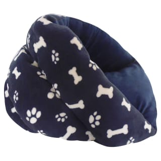 Hide & Peep Pet Bed - Navy