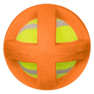 Gladiator Ball Dog Toy - Orange