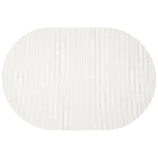 Foam Bath Mat 40 x 60cm - White