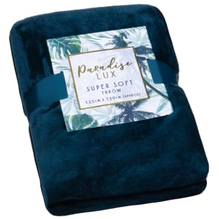 Paradise Lux Super Soft Throw - Teal