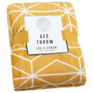 Loft Studio Geo Throw - Ochre