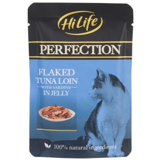 HiLife Perfection Flaked Tuna & Sardine in Jelly 70g