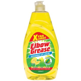 Elbow Grease Washing Up Liquid Lemon Xtra Large 1.25L