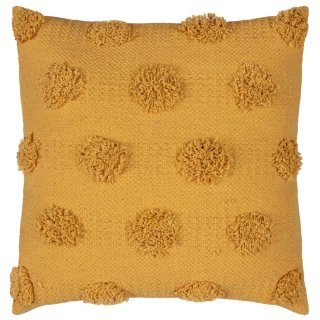 Tufted Cushion - Ochre