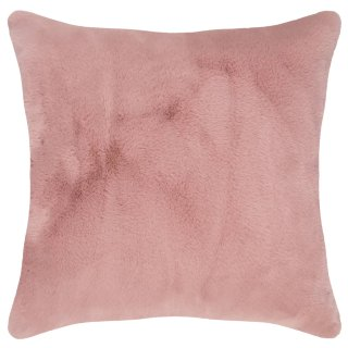 Rabbit Faux Fur Cushion - Blush