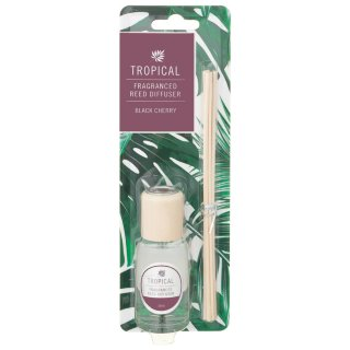 Tropical Reed Diffuser - Black Cherry