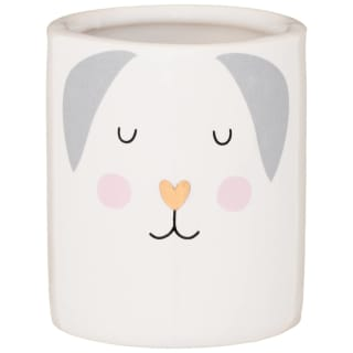 Dog Candle - Grey