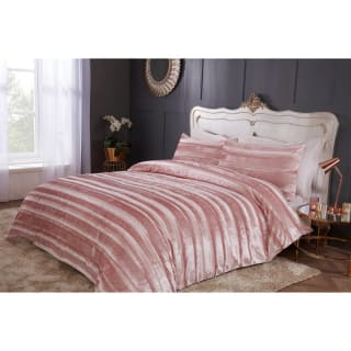 Jasmine Sparkle Velvet King Duvet Set