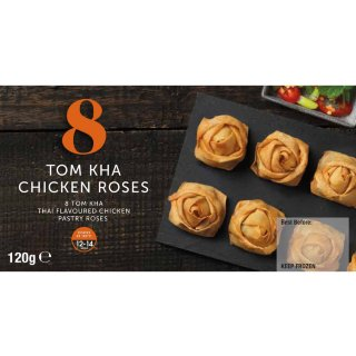8 Tom Kha Chicken Roses 120g