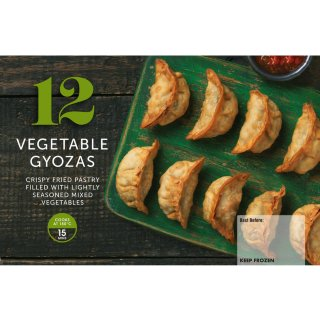 12 Vegetable Gyozas 252g